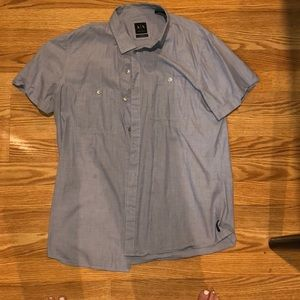 Armani Exchange Button Down